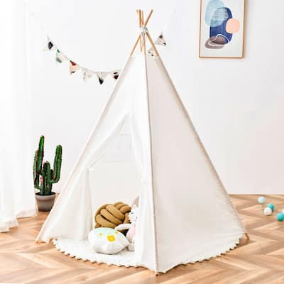 Teepee Tent for Kids Foldable Children Play Tents Playhouse for Kids