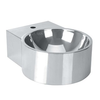 Bathroom Silver Stainless Steel Vessel Sink Double Wall