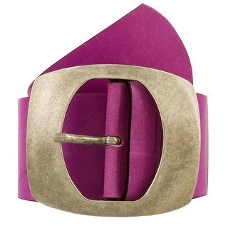 Renato Balestra Atiyana VL Purple Leather Womens Belt