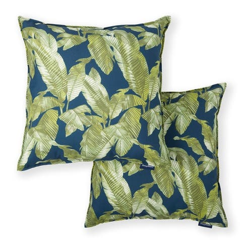 Tommy Bahama Newport Indoor/Outdoor Decorative Pillows, Set of 2