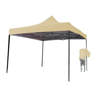 Just Relax Folding Gazebo Canopy, 10x10 Feet