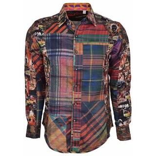 Robert Graham Classic Fit Odd Man Out Limited Edition Sport Shirt 3XL