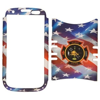 Snap-On Jelly Protector Case for Samsung Galaxy S3 (American Flag)