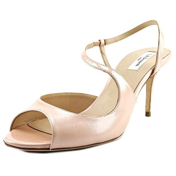 L.K. Bennett Palmita Open Toe Synthetic Sandals