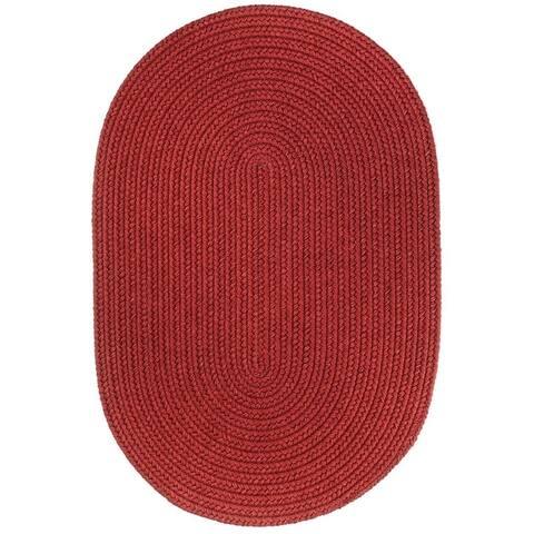 Rhody Rug Woolux Wool Oval Braided Rug