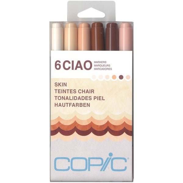 Copic Ciao Markers 6/Pkg-Skin