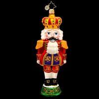 Christopher Radko Glass Otto Von Cracker Nutcracker Christmas Ornament #1017260