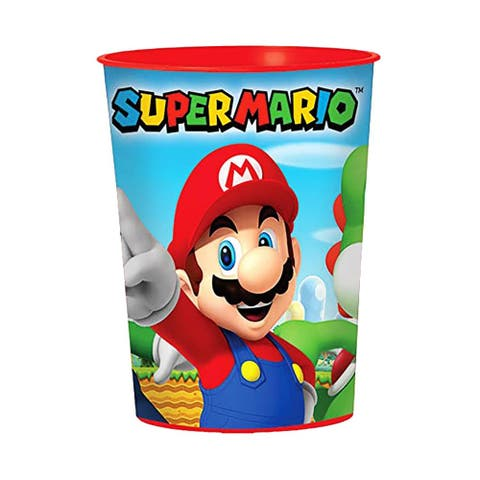 Super Mario Bros.16oz Plastic Party Favor Cup - Multi