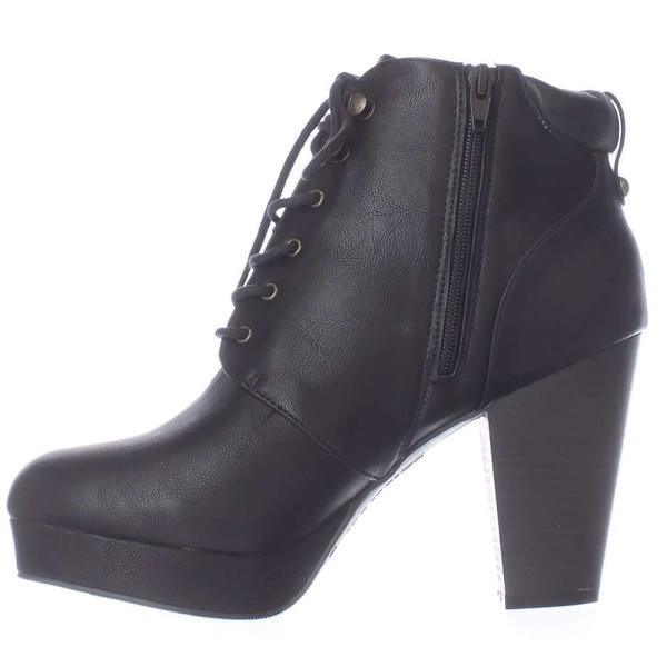 Material Girl Womens Rheta Closed Toe Ankle Fashion Boots