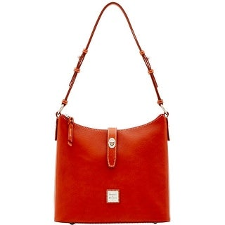Dooney & Bourke Florentine Nuovo Hobo (Introduced by Dooney & Bourke at $348 in Dec 2016) - Ginger