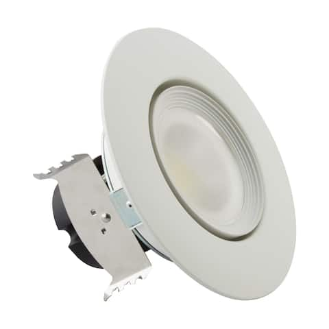 7 Watt LED Directional Retrofit Downlight Gimbaled 4 inch Adjustable Color Temperature 60 degree Beam Angle 120 Volts
