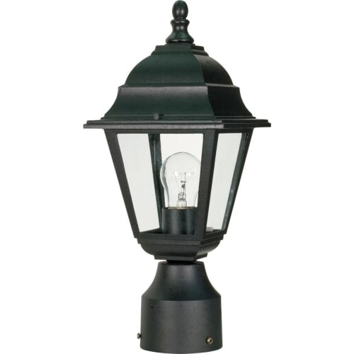 Nuvo Lighting 60/548 Single Light Up Lighting Outdoor Post Light from the Briton Collection