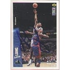 Andrew Lang Minnesota Timberwolves 1996 UD Collectors Choice Autographed Card This item comes with
