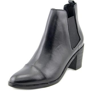Steven Steve Madden Imaginn Women  Round Toe Leather  Ankle Boot