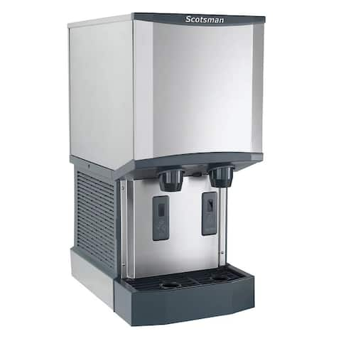 Scotsman HID312A-1A Meridian 260 Lb. Daily Ice Production Ice Machine Water Dispenser with 12 Lb. Storage Capacity