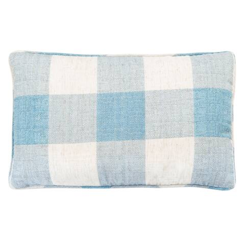 Safavieh Fernla 12 x 20-inch Gingham Pillow