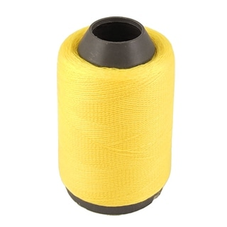 Unique Bargains Home Quilting Stitch Yellow Cotton Sewing Thread Spool