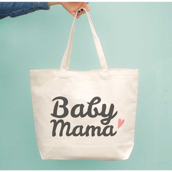 d54762a65 Shop Baby Mama Diaper Canvas Bag Cute Grocery Book Large Tote Bags Gift For  Moms - On Sale - Free Shipping On Orders Over $45 - Overstock - 23065282