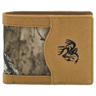Legendary Whitetails Men's High Impulse Canvas Bi-Fold Wallet - One Size