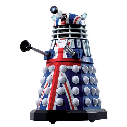 Doctor Who 50th Anniversary British Icon Dalek W/Sound & Lights - multi