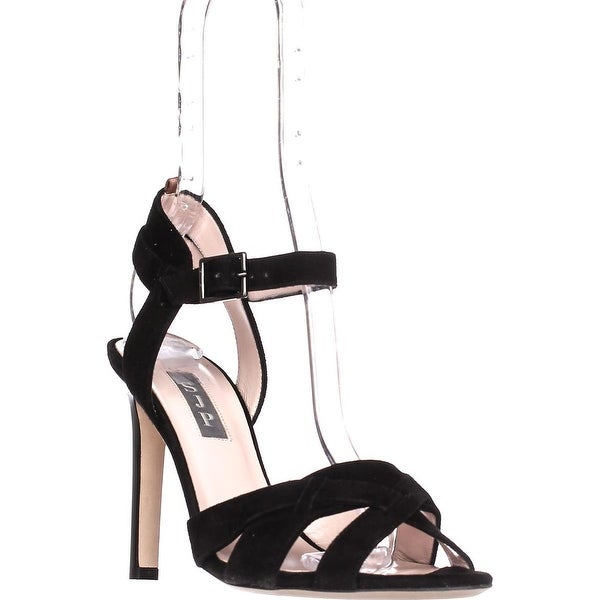 SJP by Sarah Jessica Parker Cameron Strappy Sandals, Black - 6.5 us / 38 eu
