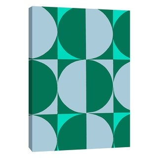 "PTM Images 9-108770  PTM Canvas Collection 10"" x 8"" - ""Monochrome Patterns 5 in Multi"" Giclee Abstract Art Print on Canvas"