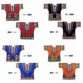 Unisex Ethnic Print Womens Plus Size Summer Casual Loose Short Sleeve Blouse Kaftan Tops T-shirt - Thumbnail 5