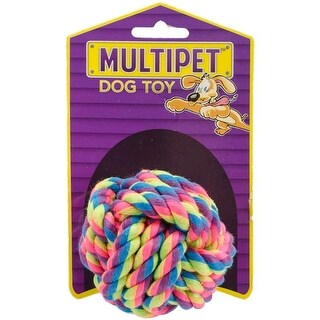 - Multipet Nuts For Knots Dog Toy 2.5""