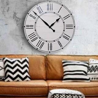 The Isa Farmhouse Wall Clock