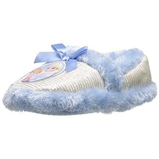 Disney Frozen Toddler Slip On Slippers - 7 medium (b,m)