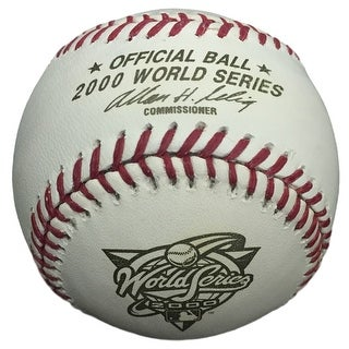 2000 World Series Unsigned Baseball New York Mets vs New York Yankees
