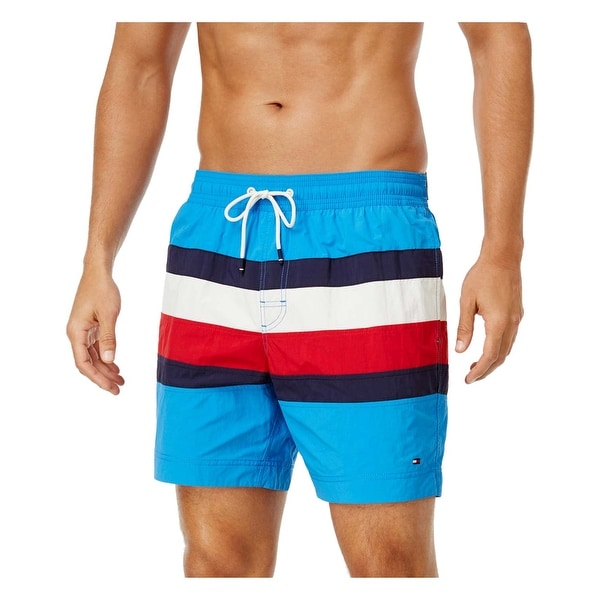 43ee9ef959 Shop Tommy Hilfiger Swim Trunks Shorts XX-Large Red White Blue Navy - Free  Shipping On Orders Over $45 - Overstock - 19833836