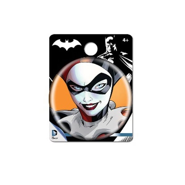 "DC Comics 1.5"" Button: ""Harley Quinn"""