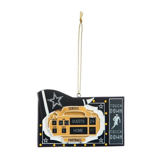 Dallas Cowboys Scoreboard Ornament
