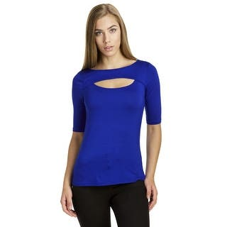 Cable & Gauge Women's 3/4 Sleeve Front Keyhole Jersey Top https://ak1.ostkcdn.com/images/products/is/images/direct/0666e3f4c160ba4c1897bf98af2ee3f5dc5921d0/Cable-%26-Gauge-Women%27s-3-4-Sleeve-Front-Keyhole-Jersey-Top.jpg?impolicy=medium