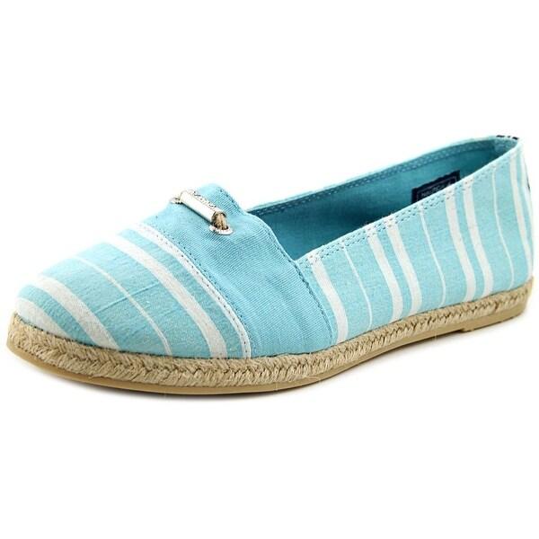 Nautica Althea Round Toe Canvas Loafer