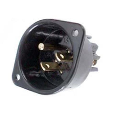Leviton Commercial Grade Straight Blade Flanged Inlet Receptacle 001-5239