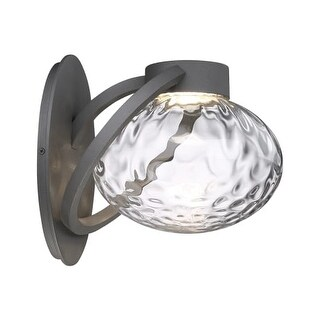 Modern Forms WS-W31511 Boule 1 Light LED Indoor / Outdoor Lantern Wall Sconce - 10 Inches Wide