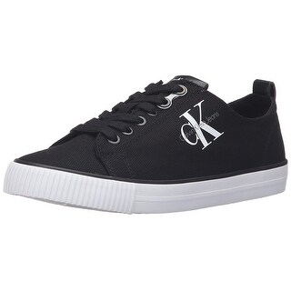 Calvin Klein Womens Dora Low Top Lace Up Fashion Sneakers