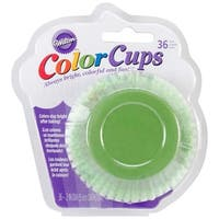 Green Ombre 36/Pkg - Colorcup Standard Baking Cups