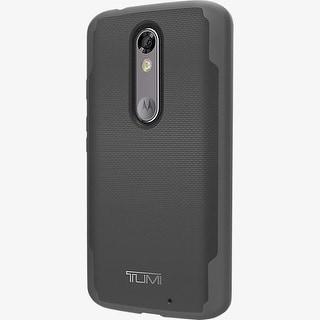 TUMI Coated Canvas Co-Mold Case for DROID Turbo 2 - Gray/Black