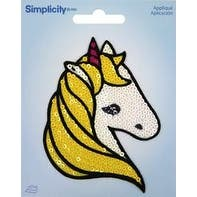 Unicorn - Wrights Sequin Iron-On Applique