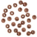 Genuine Antiqued Copper TIny Uniform Round Beads 2mm (100) - Thumbnail 0