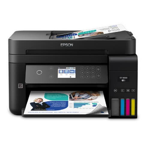 Epson WorkForce Eco-Tank Series ST-3000 Inkjet Multifunction Printer