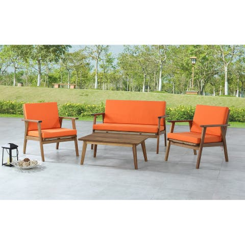 Saco 4-Piece Outdoor Chat Set