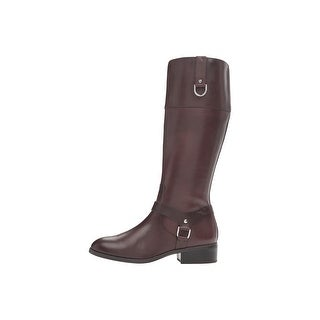 LAUREN by Ralph Lauren Womens Mesa Leather Closed Toe Mid-Calf Fashion Boots ...