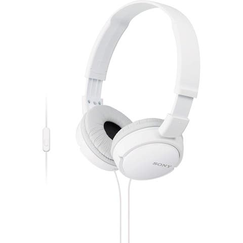 Sony 3.5mm Jack Wired On-Ear Headphones - White
