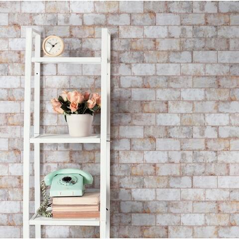 "SomerTile Biarritz Beige 3"" x 6"" Ceramic Wall Tile"