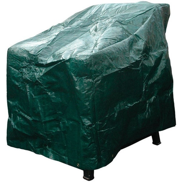 "Budge P1A03ST1-N High Back Chair Cover, Green, 27"" x 30"" x 36"""
