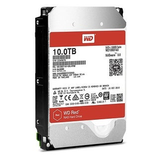 Western Digital Hdd Wd100efax 3.5 10Tb Red Sata 6Gb/S 5400Rpm 256Mb Cache Bare